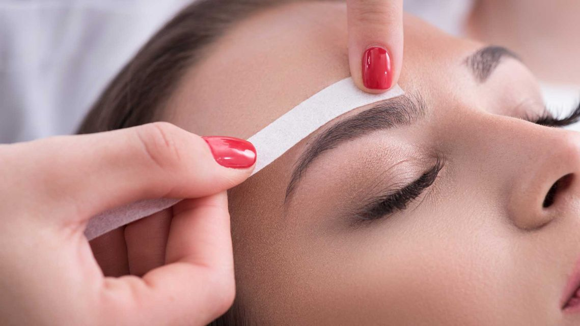 eyebrow hair removal